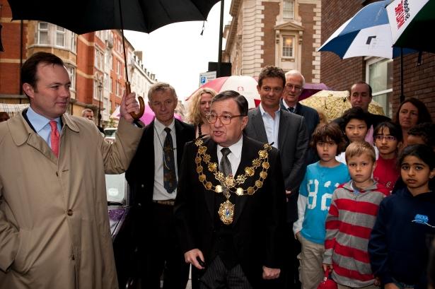 Speech on Hallam Street Mayor City of Westminster