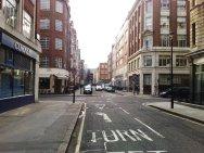 Bolsover Street Westminster before trees