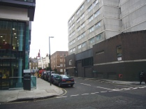 Regents Park Holiday Inn -- Bolsover Street -- a NO trees classic