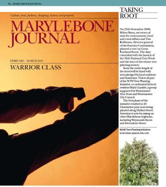 Marylebone Journal March 2010