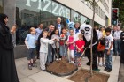Pizza Express' tree is planted on Great Portland Street