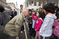 Paul Akers, Head Arboriculturalist for Westminster Council answers questions about trees from ICS children