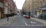 Bolsover Street  in Marylebone before trees were planted