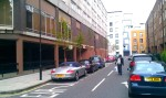 Great Titchfield Street after trees were planted