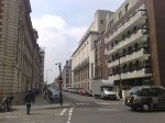 Weymouth Street before trees were planted