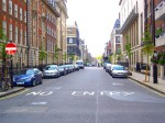 Weymouth Street after trees were planted