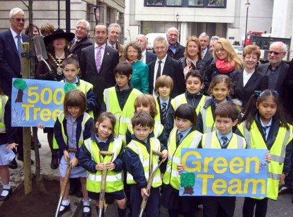 500th Tree Green Team