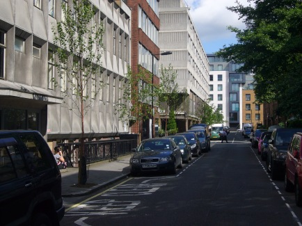 Great Titchfield Street in 2012