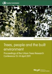 Trees, people and the built environment  Conference Proceedings (2011) - Forestry Commission